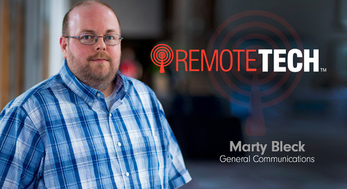 Marty Bleck - General Communications - RemoteTech
