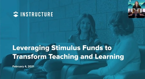 Leveraging Stimulus Funds Webinar