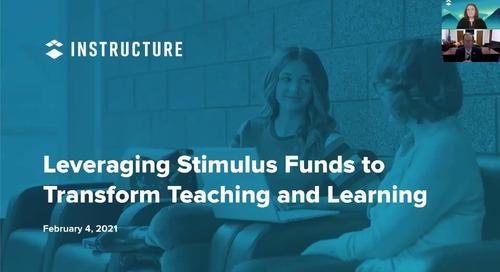 Leveraging Stimulus Funds Webinar