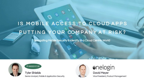 Is Mobile Access to Cloud Apps Putting Your Company at Risk?