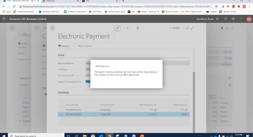 Collection Management and Payments for D365 Business Central from iSolutions