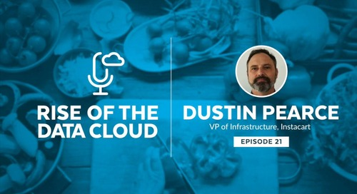Putting Data in Your Shopping Cart with Dustin Pearce, Vice President of Infrastructure at Instacart