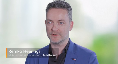 Global Med Tech Company, Medtronic, Uses Automation Anywhere RPA to Accelerate Business