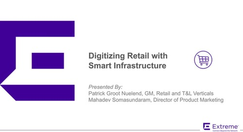 Digitizing Retail with Smart Infrastructure