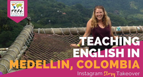 Day in the Life Teaching English in Medellin, Colombia with Brianna Brage