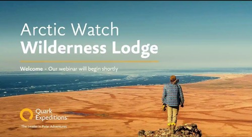 Explore Arctic Watch with your Clients