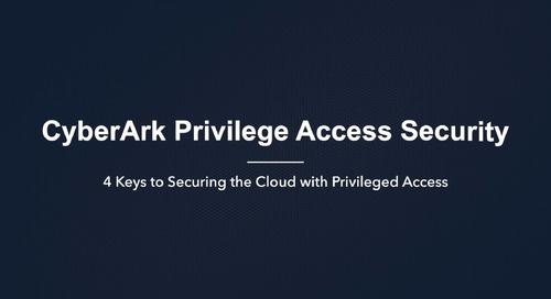 使用特權存取管理保護雲端的 4 個關鍵