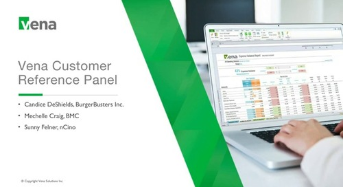 Vena Customer Reference Panel June 2019