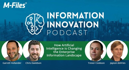 How Artificial Intelligence (AI) is Changing the Enterprise Information Landscape