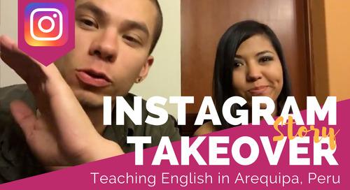 Day in the Life Teaching English in Arequipa, Peru with Joe Boldis