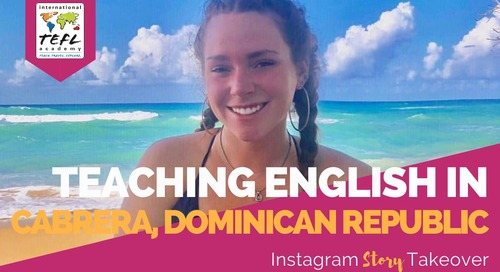 Day in the Life Teaching English in Cabrera, Dominican Republic with Kennedie Fischetti