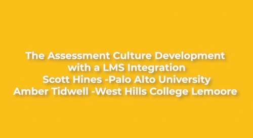 The Assessment Culture Development with a LMS Integration