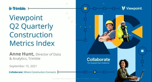Industry Pro - Construction Metrics Index Review: What Current Construction Activity Tells Us About What's Next