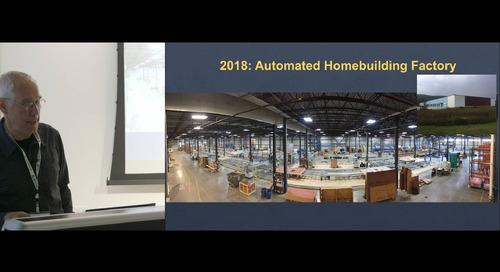 Tedd Benson of Bensonwood | Robotics in Construction