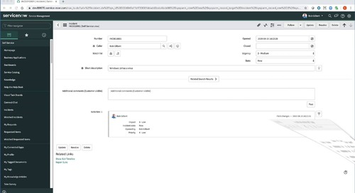 Demo - Netskope for ServiceNow