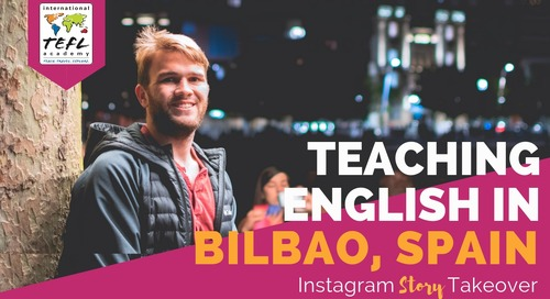 Day in the Life Teaching English in Bilbao, Spain with Peter Denyer