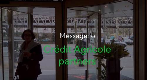 A message from Crédit Agricole Group's CPO