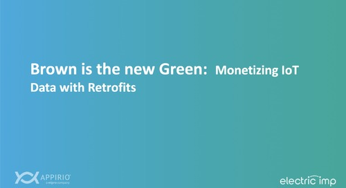Monetizing IoT Data with Retrofits [Webinar]