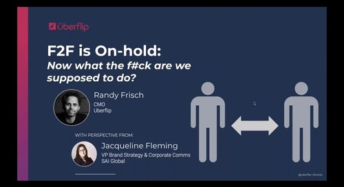 F2F is On Hold:  Now What the F#ck Are We Supposed To Do?