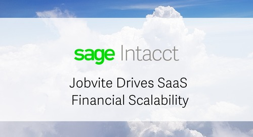 Jobvite Drives SaaS Financial Scalability with Sage Intacct