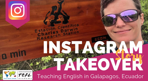 Day in the Life Teaching English in Galapagos, Ecuador with Sue Selle