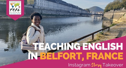 Day in the Life Teaching English in Belfort, France (TAPIF) with Jada Downing