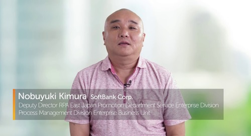 Automation Anywhere is SoftBank's RPA Tool of Choice | A Financial Services Success Story