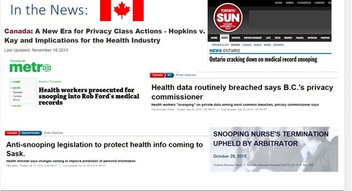 Patient Privacy Breaches: Protecting Trust in Canada's Health Care System
