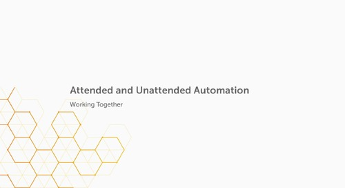 Enterprise 11.x Use Cases - Jumpstart Your Automation Use Case – Using the Bot Store to Quickly Get Started