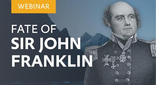Webinar: Fate of Sir John Franklin