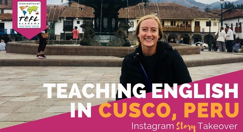 Day in the Life Teaching English in Cusco, Peru with Daniella Beccaria