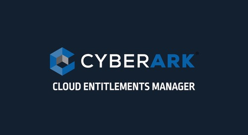 Introducing CyberArk Cloud Entitlements Manager