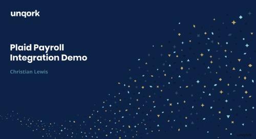 Demo: Plaid Payroll Integration