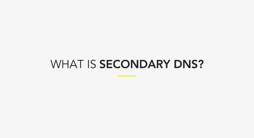What is Secondary DNS?