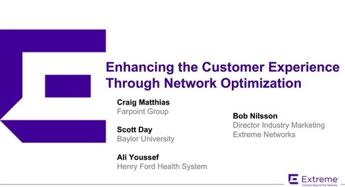 Enhancing the Customer Experience Through Network Optimization