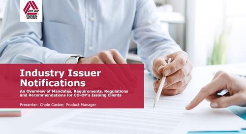Issuer Mandates & Notifications Webinar