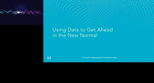 Using Data to Get Ahead in the New Normal