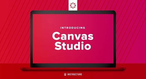 Canvas Studio: o poder do vídeo integrado ao LMS Canvas