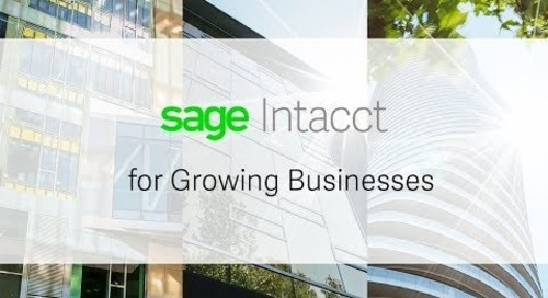 Sage Intacct for Growing Businesses