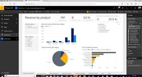 Keeping Your Executive Team Happy on the Road with Power BI and D365 for Sales