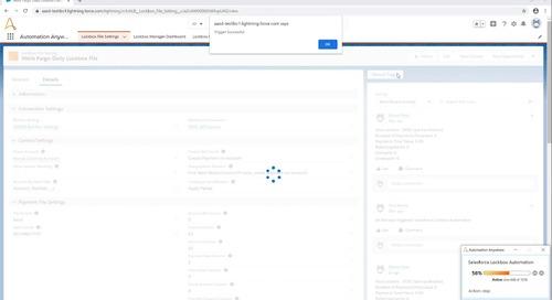 Lockbox Automation on Salesforce