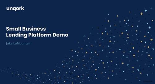 Demo: Small Business Lending Platform