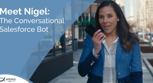Meet NiGEL:The Conversational Salesforce Bot