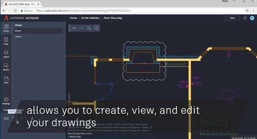 Did you know about the AutoCAD web app?