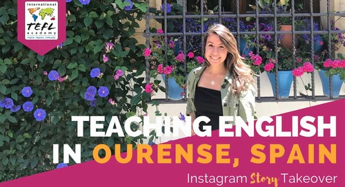 Day in the Life Teaching English in Ourense, Spain with Ezri Nicanor