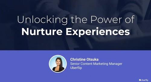 Unlocking the Power of Nurture Experiences