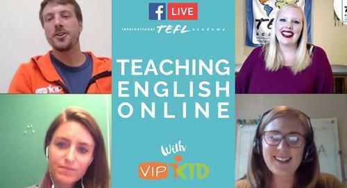 Teaching English Online Q&A with ITA Alumni & VIPKID