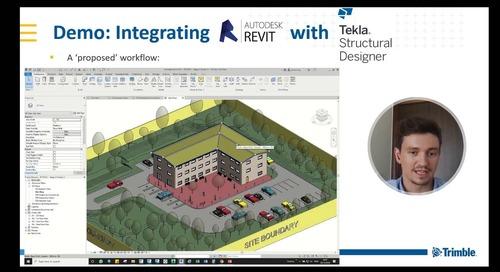Tekla Structural Designer & Revit