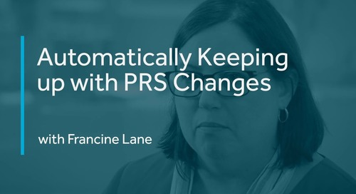 Automatically Keeping up with PRS Changes