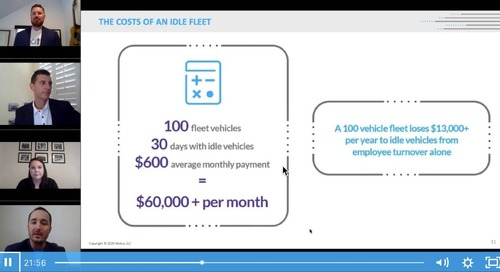 The Costs of an Idle Fleet and Impact on Businesses